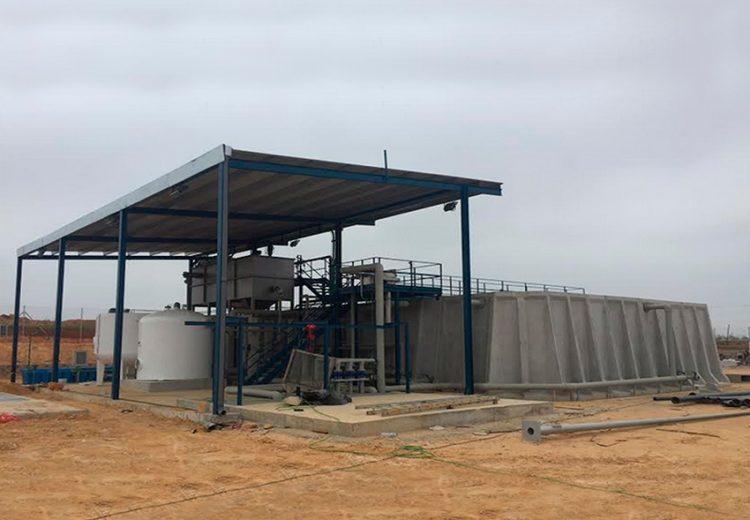 Obra Industrial Sevilla y Madrid. Grupo Zinc. Depuradora para la nueva fabrica de Ybarra