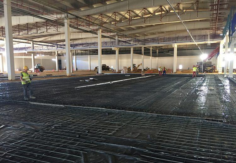 Obra Industrial Sevilla y Madrid. Grupo Zinc. Nueva fabrica Ybarra
