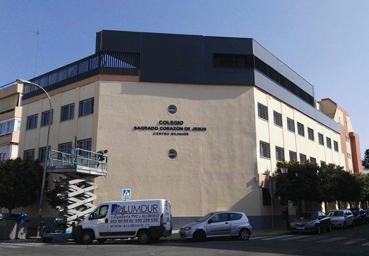 Edificación. Grupo Zinc. Colegio Sagrado Corazon. Sevilla