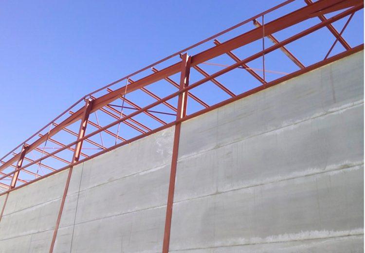 Obra Industrial. Grupo Zinc. Pansur. Sede Central Sevilla