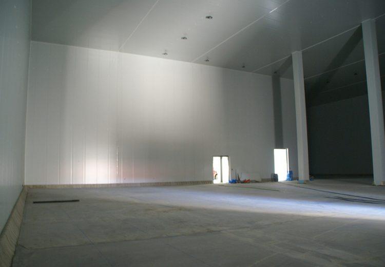 Obra Industrial Sevilla y Madrid. Grupo Zinc. Iberfruta - Grupo Helios