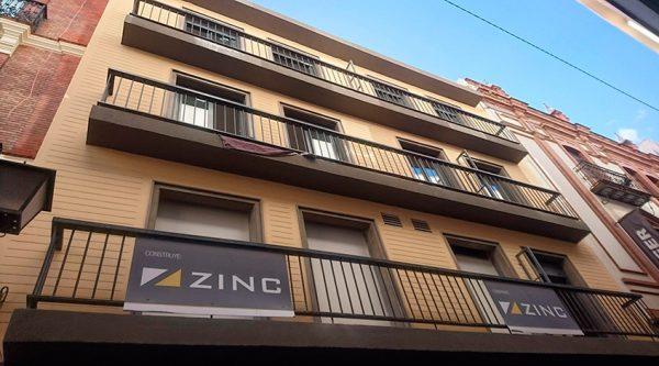 Promoción Inmobiliaria en Sevilla. Grupo Zinc