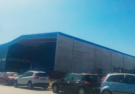 Obra Industrial. Grupo Zinc. Salsas de Salteras. Sevilla
