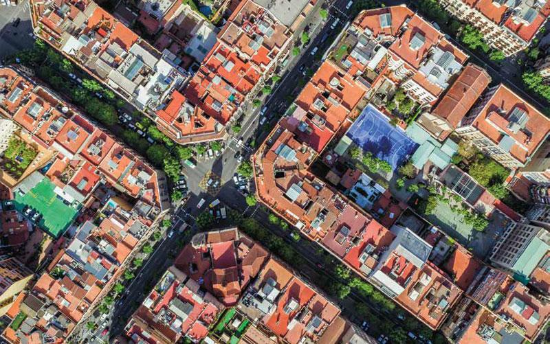 Alcanzar ciudades energéticamente sostenibles 2030 - Tejados